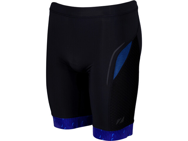 Zone3 Performance Culture Pantalones Cortos Triatlón Hombre, marl navy/black/grey